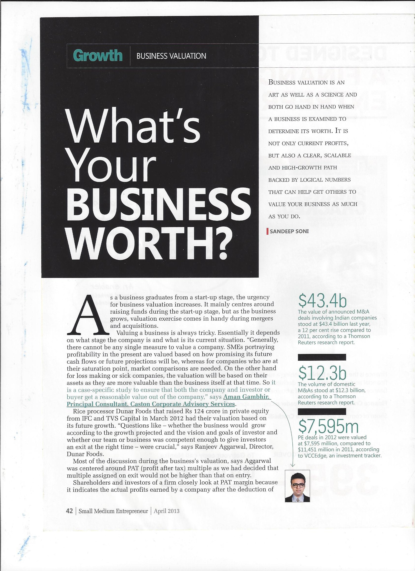 An Interface with Small Medium Entrepreneur Magazine